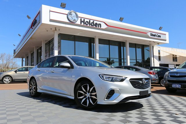 Used Holden Commodore ZB MY18 RS Liftback, 2018 Holden Commodore ZB MY18 RS Liftback Silver 9 Speed Sports Automatic Liftback