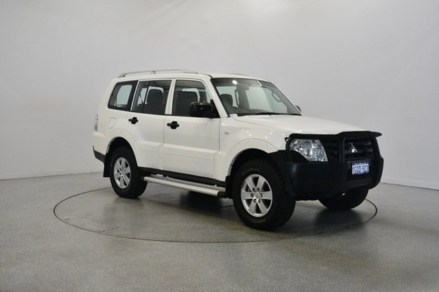 Used Mitsubishi Pajero NS GLX, 2007 Mitsubishi Pajero NS GLX White 5 Speed Manual Wagon