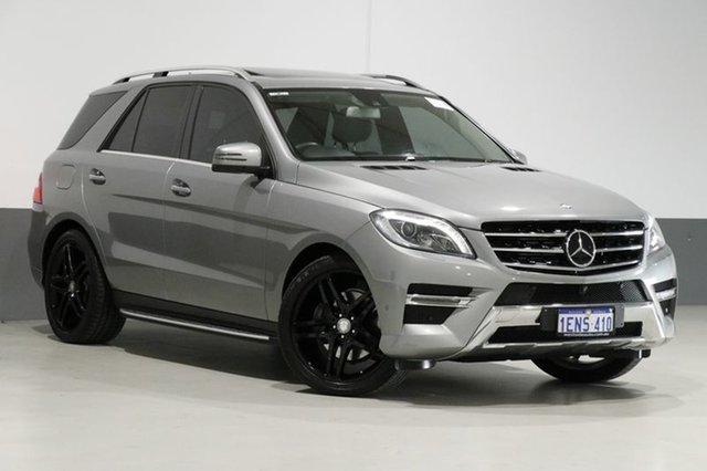 Used Mercedes-Benz ML350 CDI BlueTEC 166 MY14 4x4, 2014 Mercedes-Benz ML350 CDI BlueTEC 166 MY14 4x4 Silver 7 Speed Automatic Wagon
