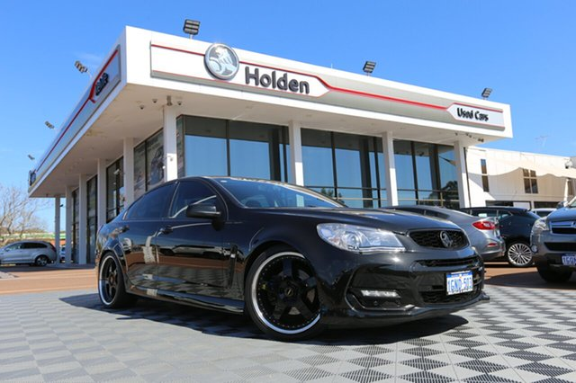 Used Holden Commodore VF II MY16 SS, 2016 Holden Commodore VF II MY16 SS Black 6 Speed Sports Automatic Sedan