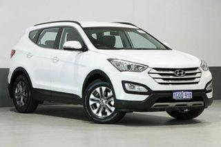 2014 Hyundai Santa Fe DM Active CRDi (4x4) White 6 Speed Automatic Wagon.