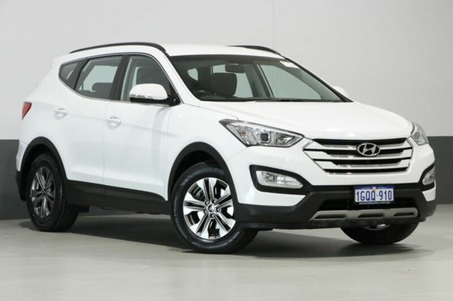 Used Hyundai Santa Fe DM Active CRDi (4x4), 2014 Hyundai Santa Fe DM Active CRDi (4x4) White 6 Speed Automatic Wagon