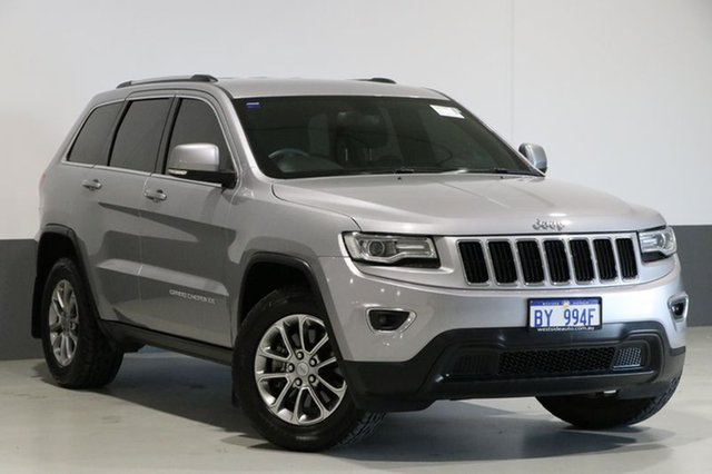Used Jeep Grand Cherokee WK MY14 Laredo (4x4), 2014 Jeep Grand Cherokee WK MY14 Laredo (4x4) Silver 8 Speed Automatic Wagon