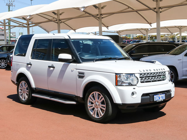 Used Land Rover Discovery 4 MY13 3.0 TDV6, 2013 Land Rover Discovery 4 MY13 3.0 TDV6 White 8 Speed Automatic Wagon