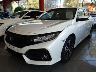 2018 Honda Civic MY18 CIVIC 5A VTI-LX HATCH MY18 White Orchid Hatchback.