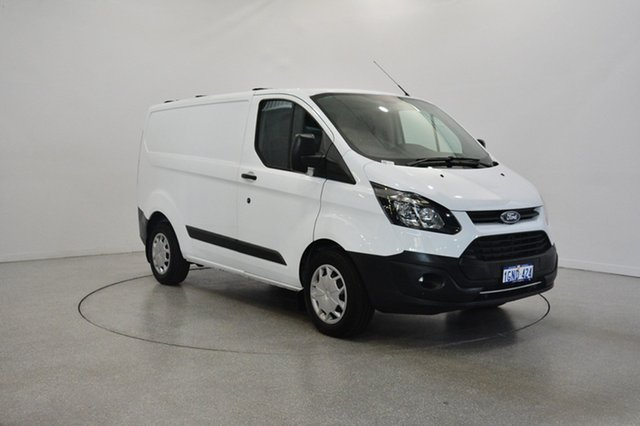 Used Ford Transit Custom VN 290S Low Roof SWB, 2017 Ford Transit Custom VN 290S Low Roof SWB Frozen White 6 Speed Automatic Van