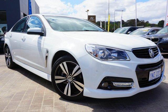 Used Holden Commodore VF MY15 SV6 Storm, 2015 Holden Commodore VF MY15 SV6 Storm White 6 Speed Sports Automatic Sedan