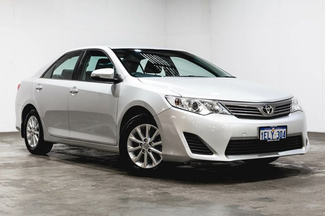 Used Toyota Camry ASV50R Altise, 2014 Toyota Camry ASV50R Altise Silver Pearl 6 Speed Sports Automatic Sedan