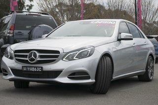 2013 Mercedes-Benz E250 CDI W212 MY12 BlueEFFICIENCY 7G-Tronic + Avantgarde Silver 7 Speed.