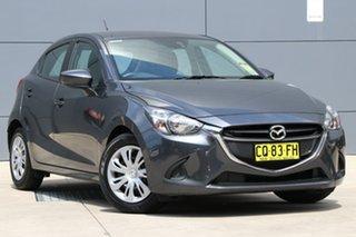 2018 Mazda 2 DJ2HAA Neo SKYACTIV-Drive Meteor Grey 6 Speed Sports Automatic Hatchback.