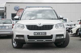 2014 Skoda Yeti 5L MY15 103TDI DSG Outdoor White 6 Speed Sports Automatic Dual Clutch Wagon