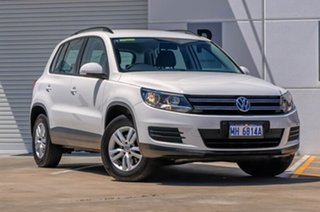 2012 Volkswagen Tiguan 5N MY13 118TSI 2WD White 6 Speed Manual Wagon.
