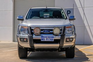 2011 Ford Ranger PX XLT Super Cab Silver 6 Speed Sports Automatic Utility