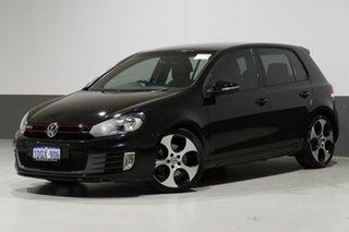 2011 Volkswagen Golf 1K MY11 GTi Black 6 Speed Direct Shift Hatchback.