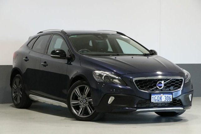 Used Volvo V40 M MY15 T5 Cross Country, 2014 Volvo V40 M MY15 T5 Cross Country Blue 8 Speed Automatic Hatchback