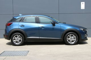 2018 Mazda CX-3 DK2WSA Maxx SKYACTIV-Drive FWD Sport Eternal Blue 6 Speed Sports Automatic Wagon