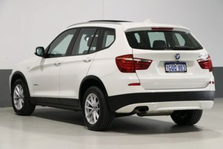 2011 BMW X3 F25 xDrive 20D White 8 Speed Automatic Wagon