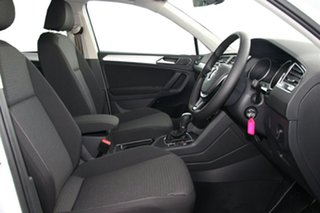 2020 Volkswagen Tiguan 5N MY20 110TSI DSG 2WD Trendline White 6 Speed Sports Automatic Dual Clutch