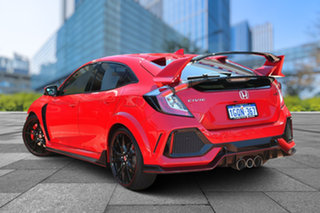 2017 Honda Civic 10th Gen MY17 Type R Ralley Red 6 Speed Manual Hatchback.