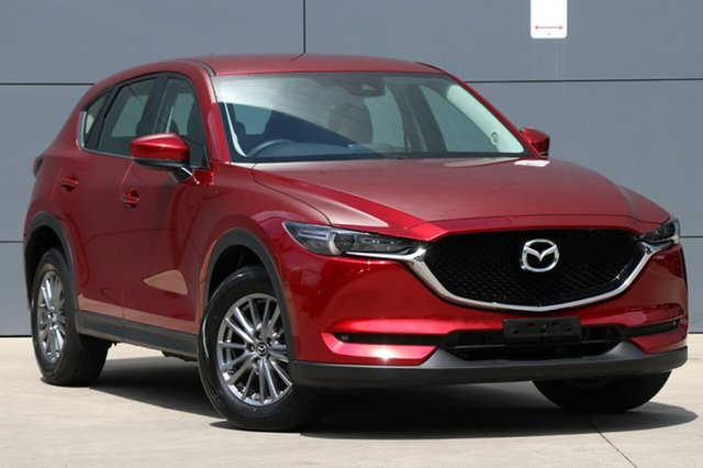Used Mazda CX-5 KF2W7A Maxx SKYACTIV-Drive FWD Sport, 2017 Mazda CX-5 KF2W7A Maxx SKYACTIV-Drive FWD Sport Soul Red 6 Speed Sports Automatic Wagon