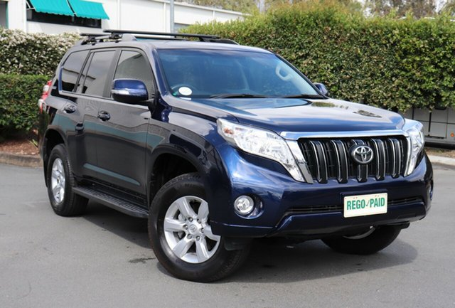 Used Toyota Landcruiser Prado KDJ150R MY14 GXL, 2014 Toyota Landcruiser Prado KDJ150R MY14 GXL Blue 5 Speed Sports Automatic Wagon