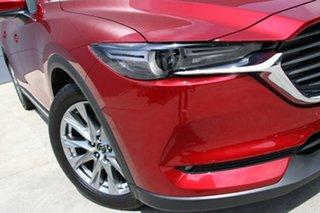 2018 Mazda CX-8 KG4W2A Asaki SKYACTIV-Drive i-ACTIV AWD Soul Red Crystal 6 Speed Sports Automatic.