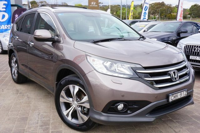 Used Honda CR-V RM VTi-L 4WD, 2013 Honda CR-V RM VTi-L 4WD Gold 5 Speed Automatic Wagon