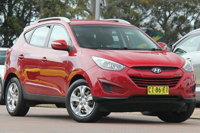 Used Hyundai ix35 LM3 MY15 Active, 2014 Hyundai ix35 LM3 MY15 Active Remington Red 6 Speed Sports Automatic SUV