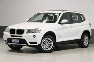 2011 BMW X3 F25 xDrive 20D White 8 Speed Automatic Wagon.