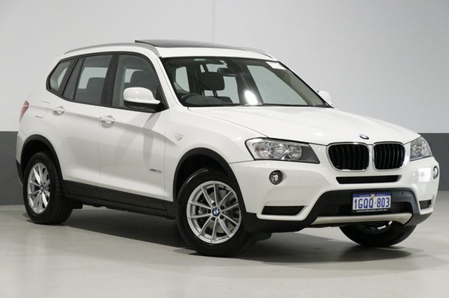 Used BMW X3 F25 xDrive 20D, 2011 BMW X3 F25 xDrive 20D White 8 Speed Automatic Wagon