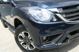 2018 Mazda BT-50 UR0YG1 XTR 4x2 Hi-Rider Deep Crystal Blue 6 Speed Sports Automatic Utility.