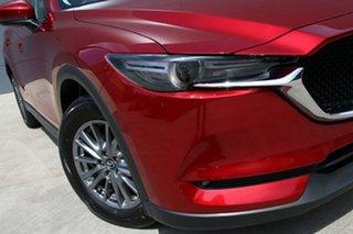 2017 Mazda CX-5 KF2W7A Maxx SKYACTIV-Drive FWD Sport Soul Red 6 Speed Sports Automatic Wagon.