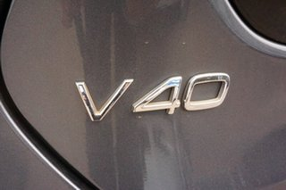 2014 Volvo V40 M Series MY14 T5 Adap Geartronic R-Design Grey 6 Speed Sports Automatic Hatchback