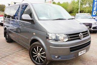 2013 Volkswagen Multivan T5 MY13 TDI340 DSG Comfortline Grey 7 Speed Sports Automatic Dual Clutch.
