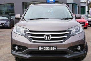 2013 Honda CR-V RM VTi-L 4WD Gold 5 Speed Automatic Wagon.