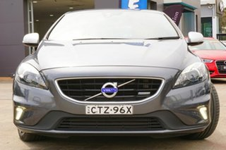 2014 Volvo V40 M Series MY14 T5 Adap Geartronic R-Design Grey 6 Speed Sports Automatic Hatchback.