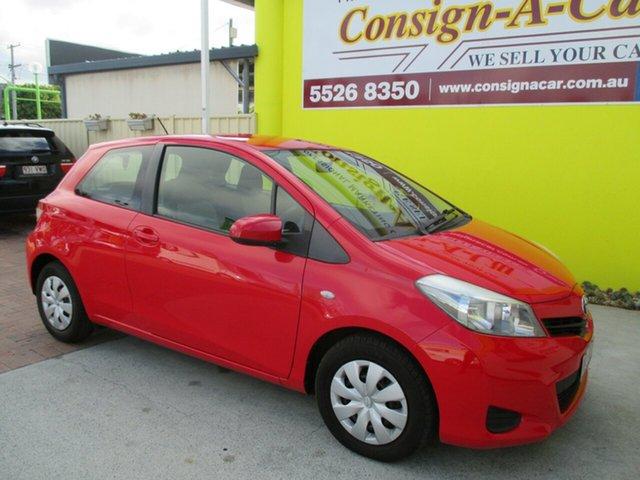 Used Toyota Yaris NCP130R YR, 2013 Toyota Yaris NCP130R YR Red 4 Speed Automatic Hatchback