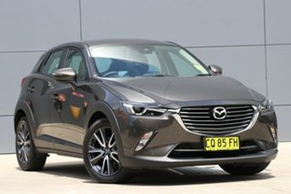 2018 Mazda CX-3 DK2W7A sTouring SKYACTIV-Drive Titanium Flash 6 Speed Sports Automatic Wagon.