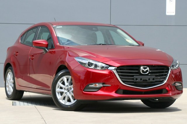 New Mazda 3 BN5478 Neo SKYACTIV-Drive Sport, 2018 Mazda 3 BN5478 Neo SKYACTIV-Drive Sport Soul Red Crystal 6 Speed Sports Automatic Hatchback