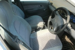 1998 Ford Festiva WF GLi White 5 Speed Manual Hatchback