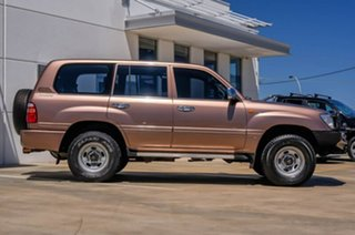 1998 Toyota Landcruiser FZJ80R GXL Brown 4 Speed Automatic Wagon.