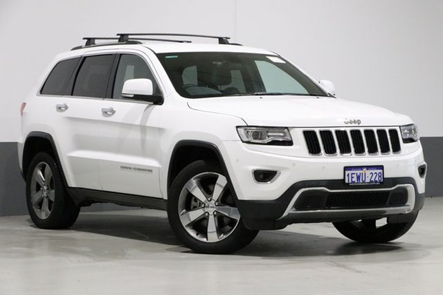 Used Jeep Grand Cherokee WK MY15 Limited (4x4), 2015 Jeep Grand Cherokee WK MY15 Limited (4x4) White 8 Speed Automatic Wagon