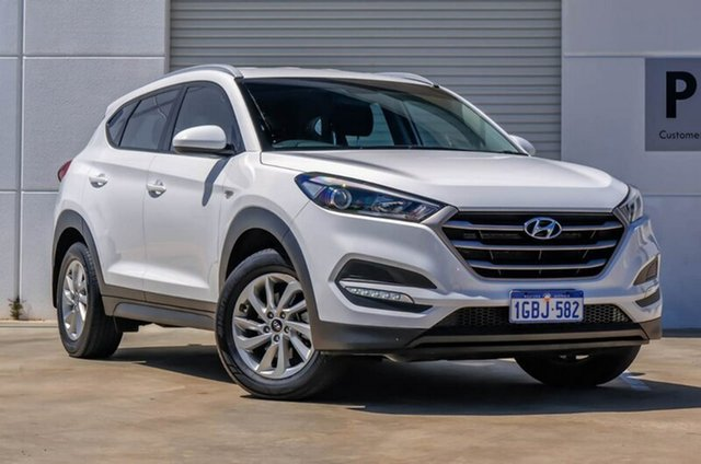 Used Hyundai Tucson TLE Active 2WD, 2016 Hyundai Tucson TLE Active 2WD White 6 Speed Manual Wagon