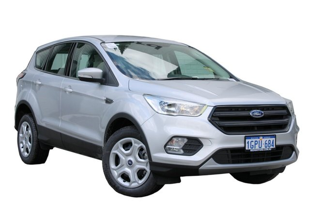 Demo Ford Escape ZG 2018.00MY Ambiente 2WD, 2018 Ford Escape ZG 2018.00MY Ambiente 2WD Moondust Silver 6 Speed Sports Automatic Wagon