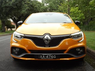 2018 Renault Megane BFB R.S. 280 EDC Orange Tonic 6 Speed Sports Automatic Dual Clutch Hatchback