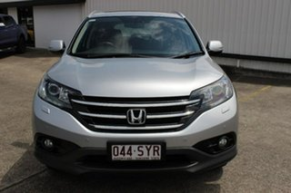 2013 Honda CR-V RM VTi-L 4WD Silver 5 Speed Automatic Wagon.