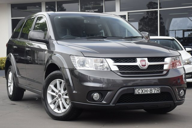 Used Fiat Freemont JF Urban, 2014 Fiat Freemont JF Urban Granito Grey 6 Speed Automatic SUV