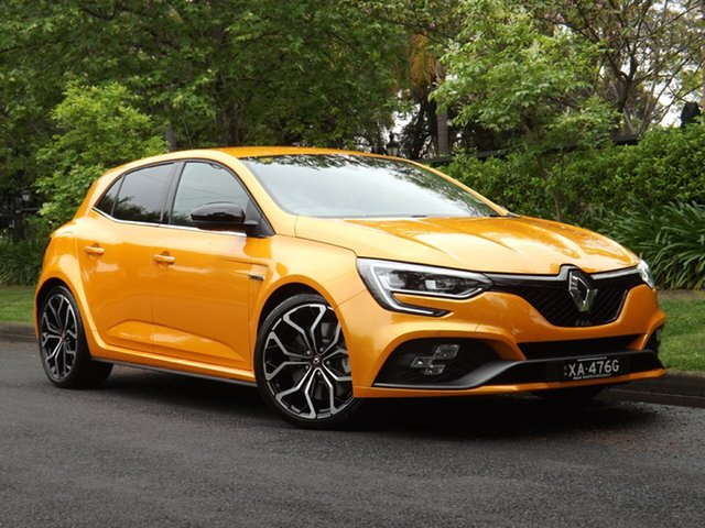 Demo Renault Megane BFB R.S. 280 EDC, 2018 Renault Megane BFB R.S. 280 EDC Orange Tonic 6 Speed Sports Automatic Dual Clutch Hatchback