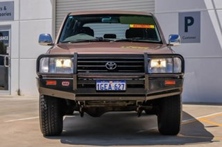 1998 Toyota Landcruiser FZJ80R GXL Brown 4 Speed Automatic Wagon