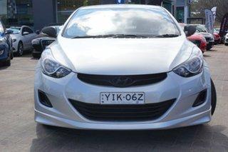 2011 Hyundai Elantra MD Active Silver 6 Speed Manual Sedan.